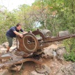 Kyle and the anti-aircraft gun