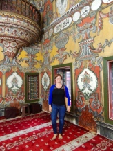 Inside the Painted Mosque