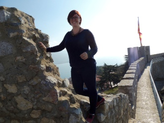 On top of the fortress