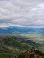 Amazing view from the monastery