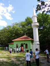 New mosque in an old village