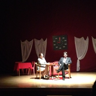 I went to see a play in Sveti Nikole this week. It was a drama, and I understood the whole thing! Language win!