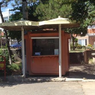 Milefka's toast stand