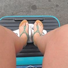 The footsie tootsie made my feet go numb