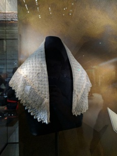 This shawl was given to Harriet Tubman by Queen Victoria