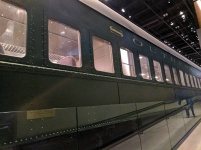 Segregation-era rail car