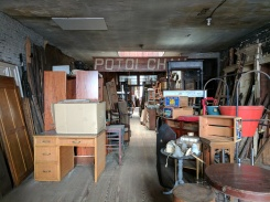 Amazing architectural salvage store. Too expensive for us, but fun to poke around in