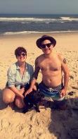 Family photo at the beach!