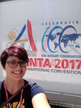 This convention celebrated the 100th anniversary of the Rotary Foundation