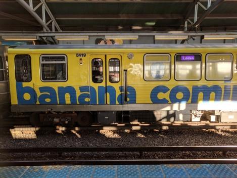 Banana train!