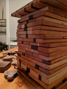 So many cutting boards!