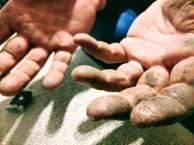 Handyman hands