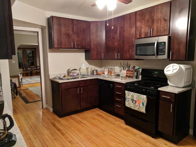 My enormous wonderful kitchen!