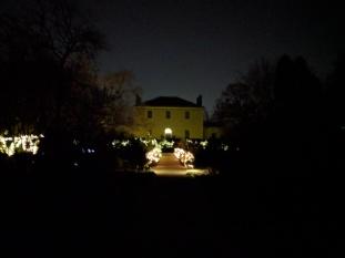 Tudor Place with fairy lights