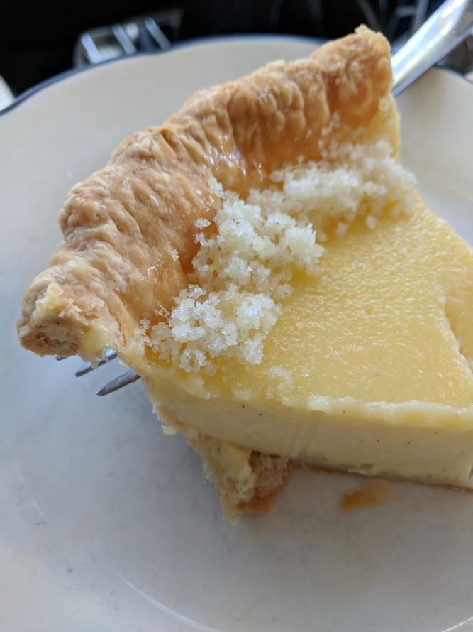 Ginger custard pie