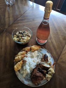 Dinner from Bing
